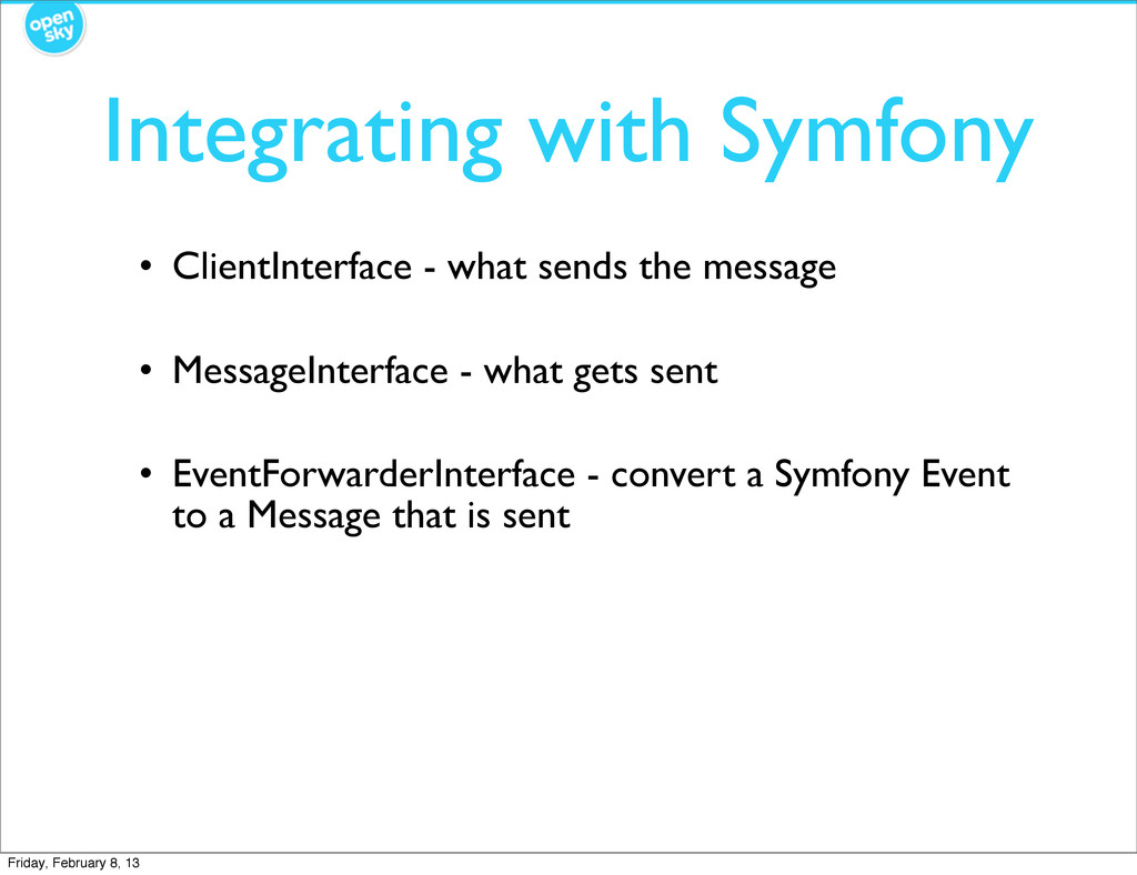 Integrating with Symfony • ClientInterface - wh...