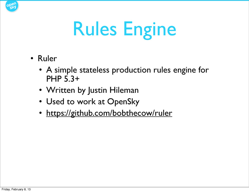 Rules Engine • Ruler • A simple stateless produ...