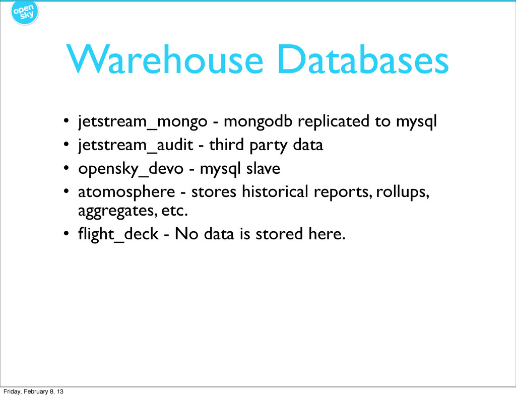 Warehouse Databases • jetstream_mongo - mongodb...