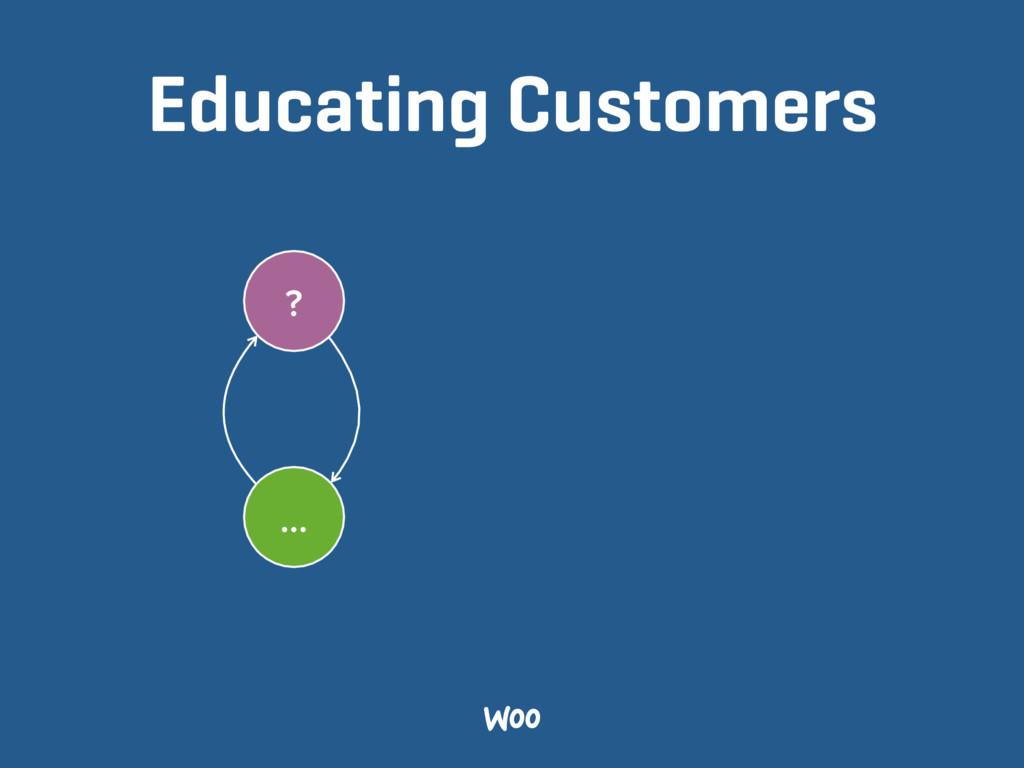 Educating Customers ? …