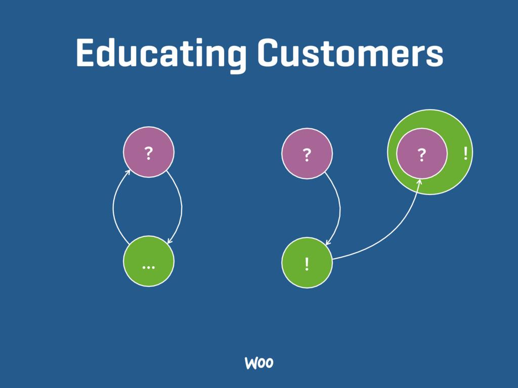! Educating Customers ? … ? ! ?