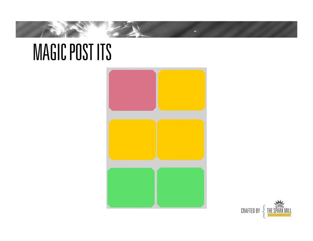 MAGIC POST ITS