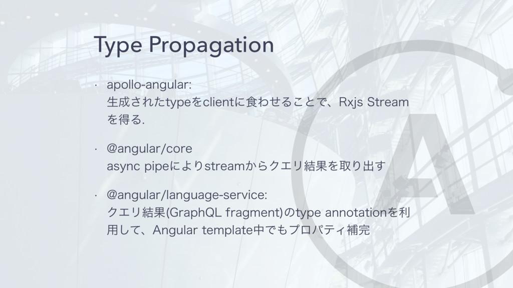 Type Propagation w BQPMMPBOHVMBS ੜ͞ΕͨUZQFΛD...