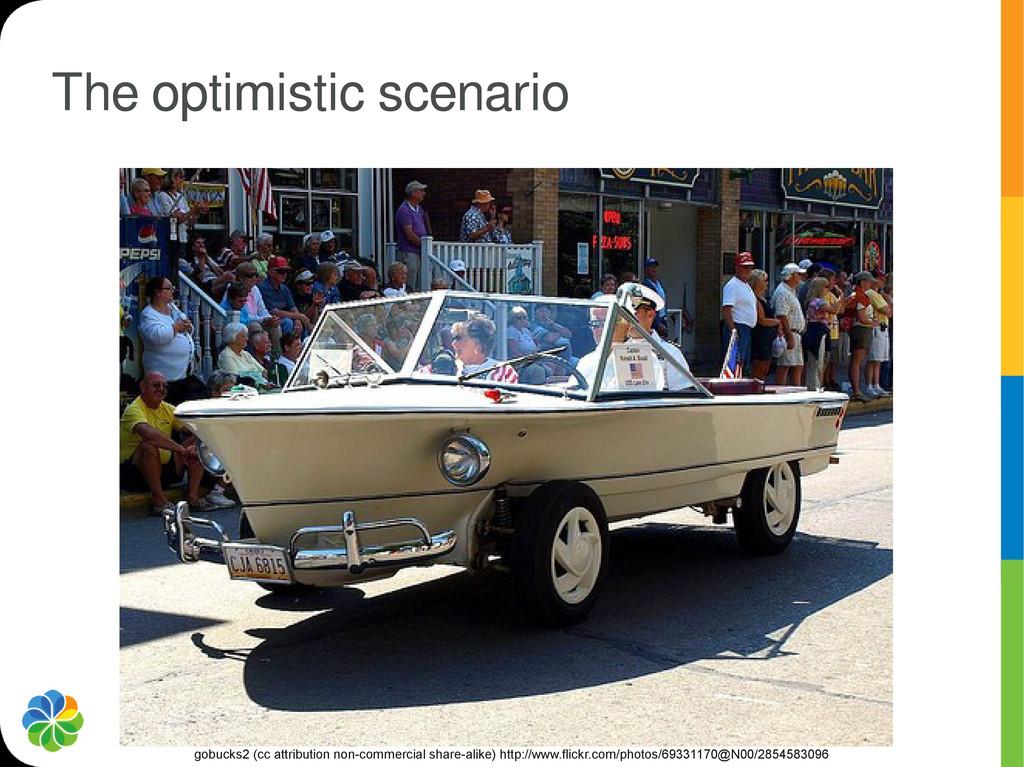 The optimistic scenario gobucks2 (cc attributio...