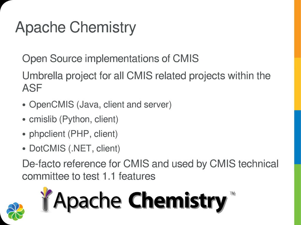 Apache Chemistry Open Source implementations of...