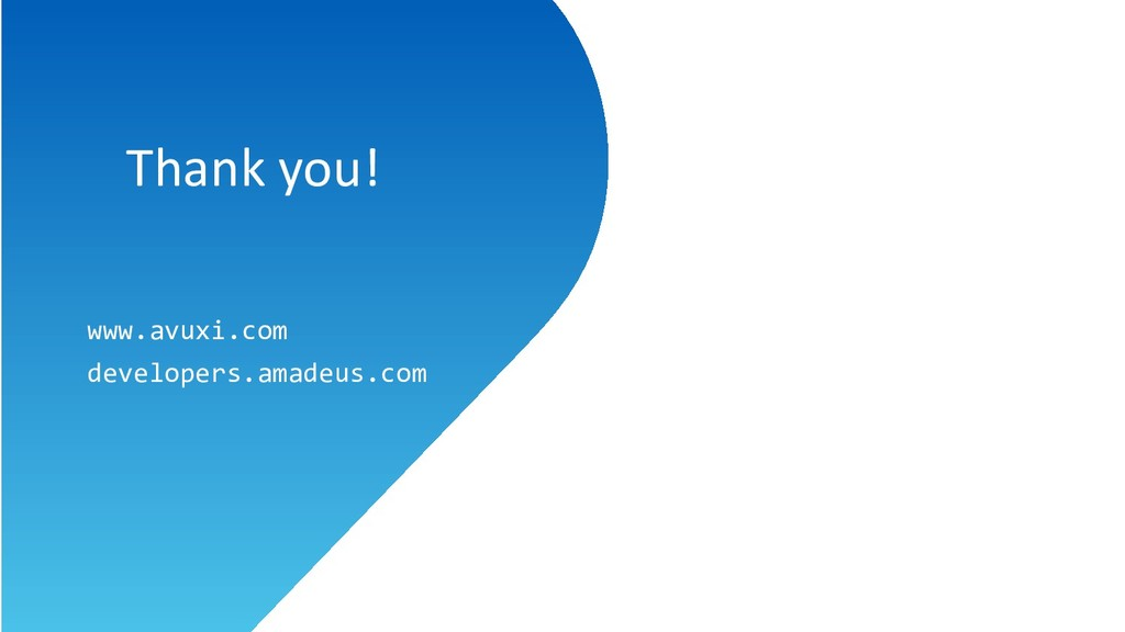 Thank you! Thank you! www.avuxi.com developers....