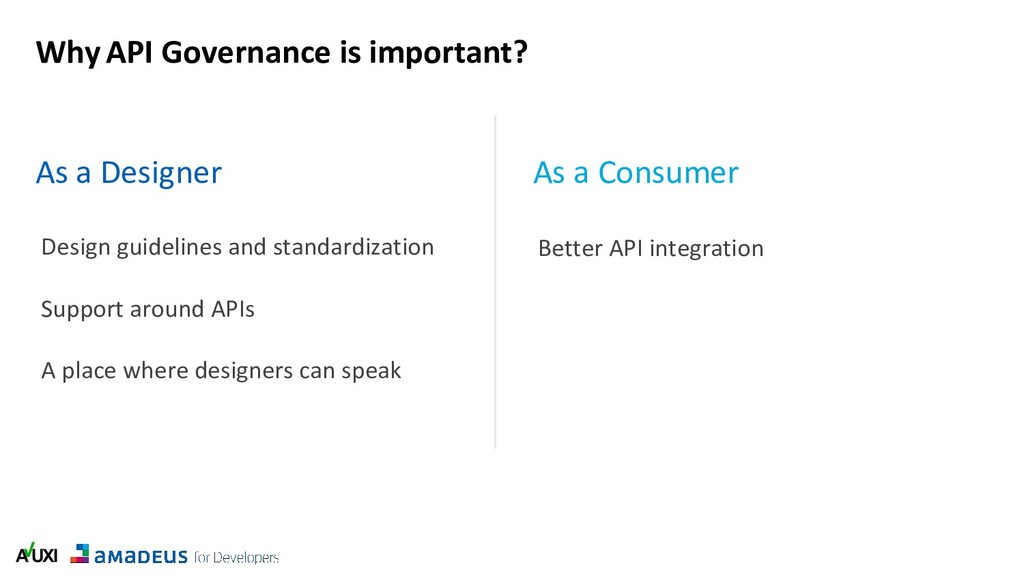 Why API Governance is important? As a Designer ...