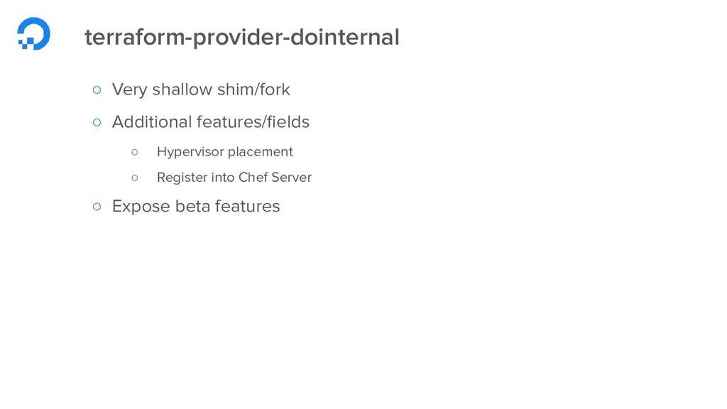 terraform-provider-dointernal ○ Very shallow sh...