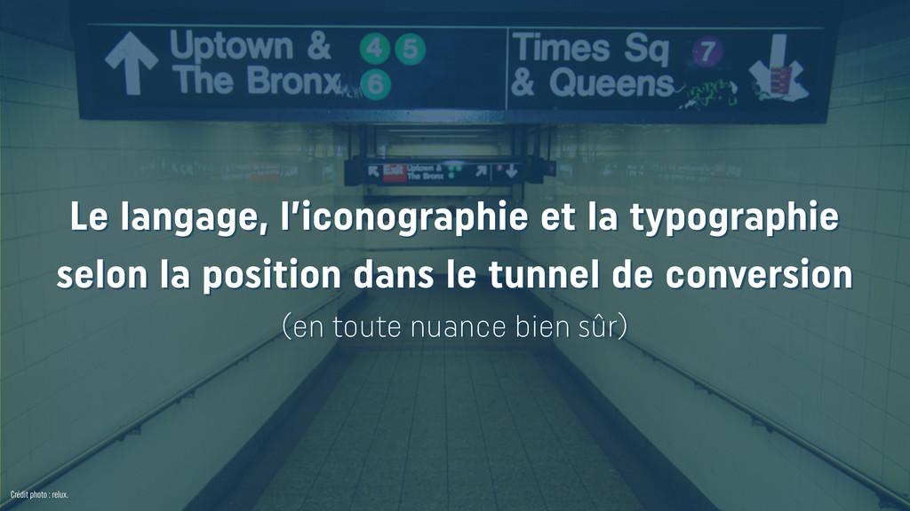 Crédit photo : relux. Le langage, l'iconographi...