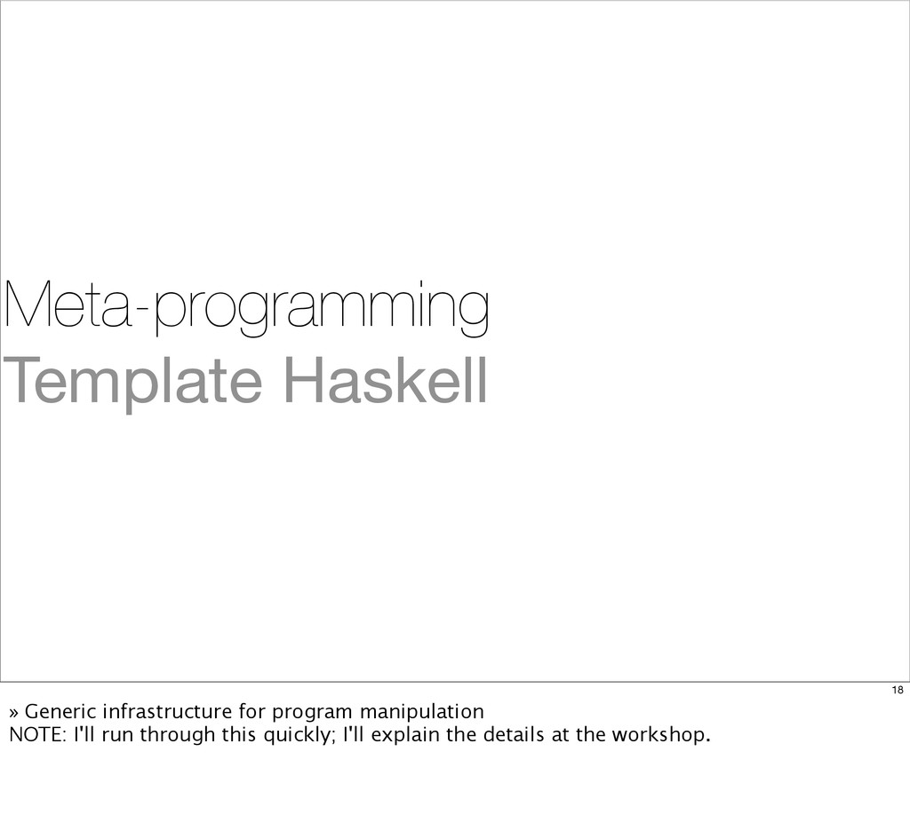 Meta-programming Template Haskell 18 » Generic ...
