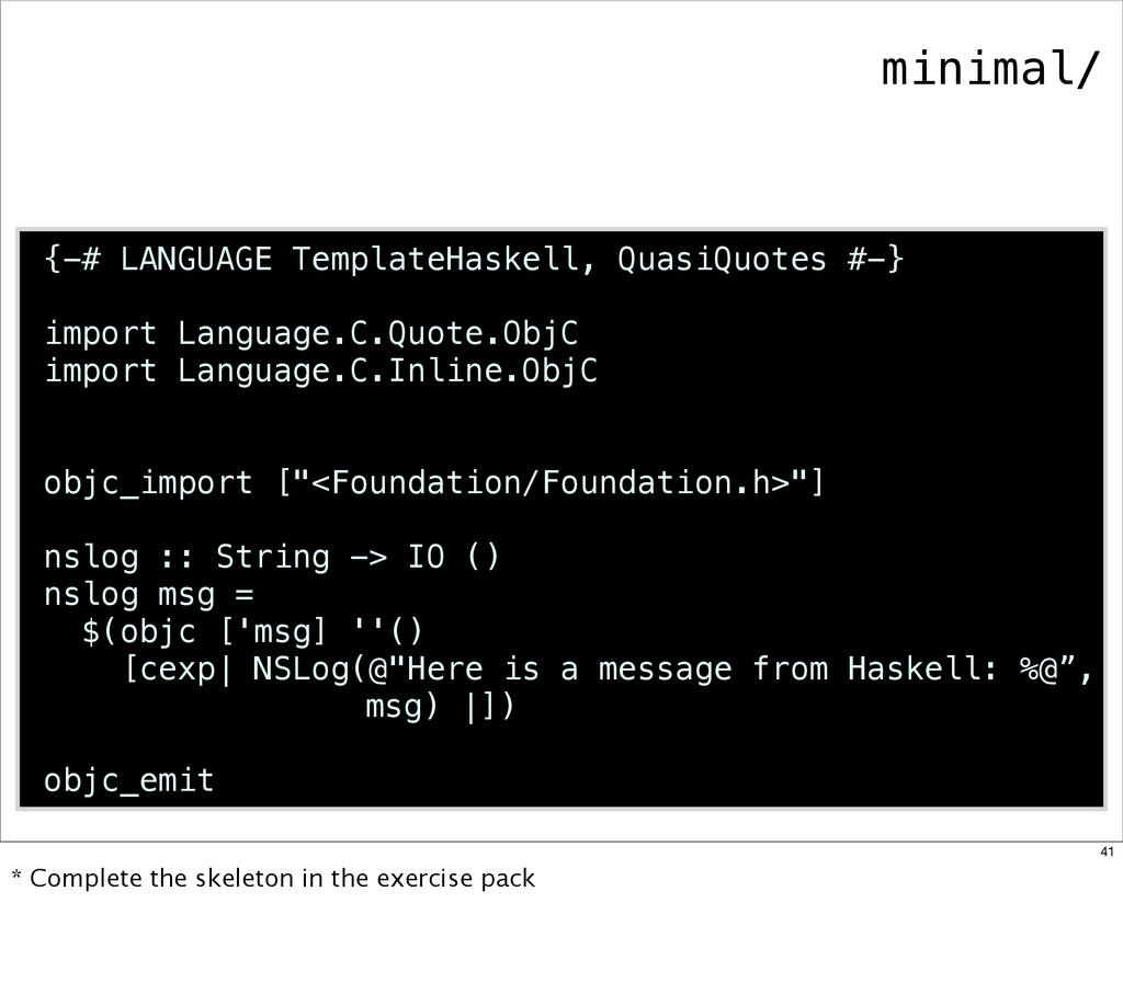 {-# LANGUAGE TemplateHaskell, QuasiQuotes #-} i...