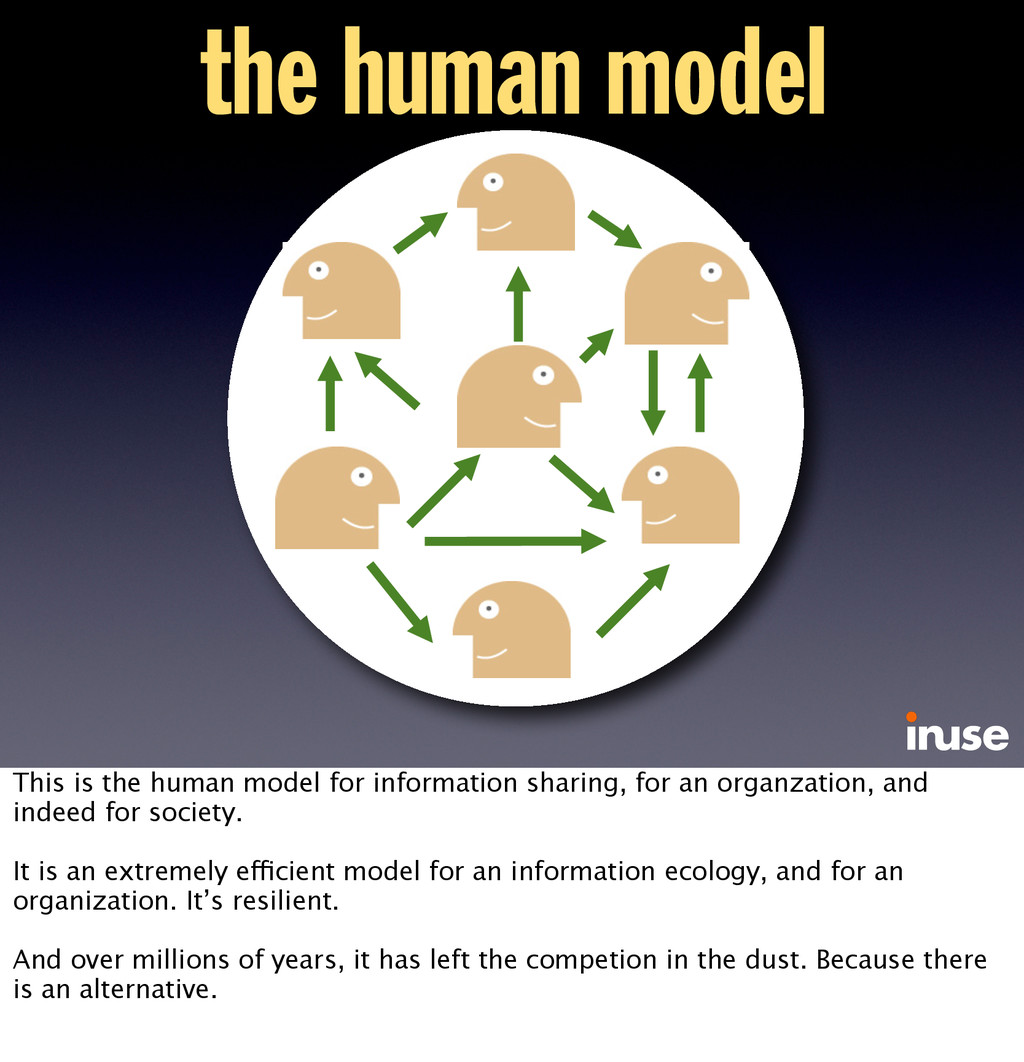 the human model This is the human model for inf...