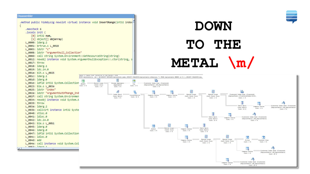 DOWN TO THE METAL \m/