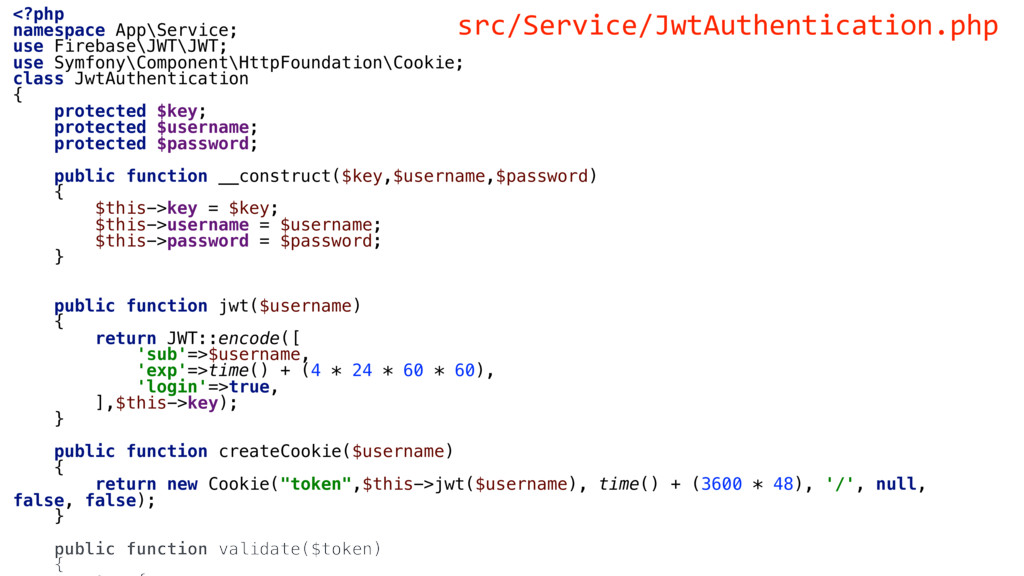 <?php namespace App\Service; use Firebase\JWT\J...
