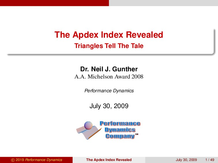 The Apdex Index Revealed Triangles Tell The Tal...