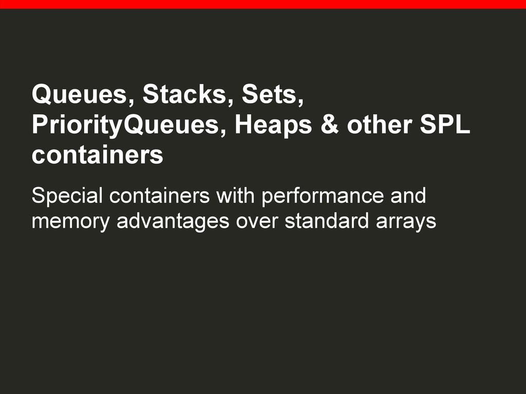 Queues, Stacks, Sets, PriorityQueues, Heaps & o...