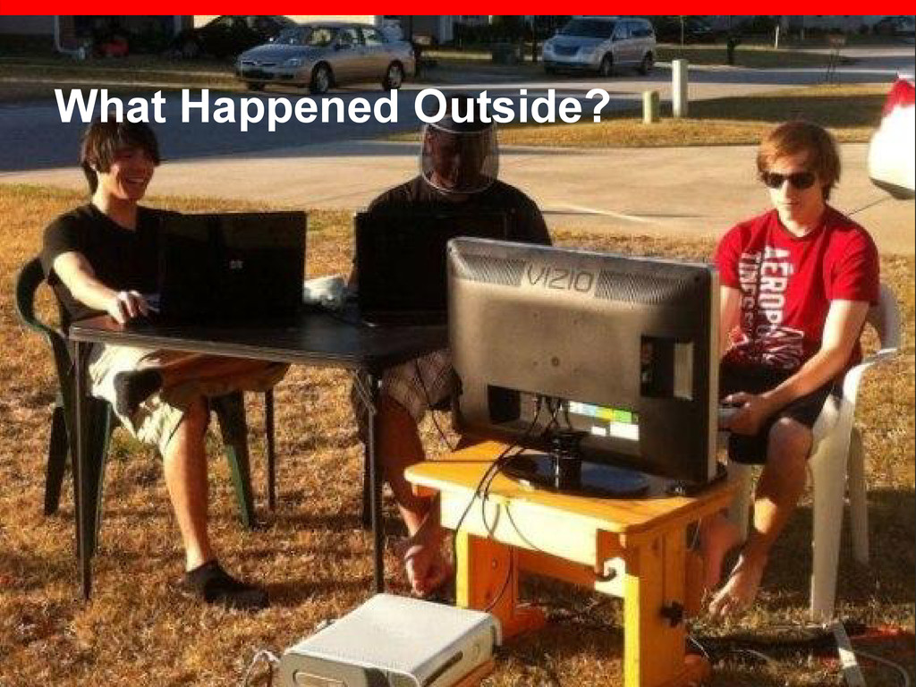 What Happened Outside?
