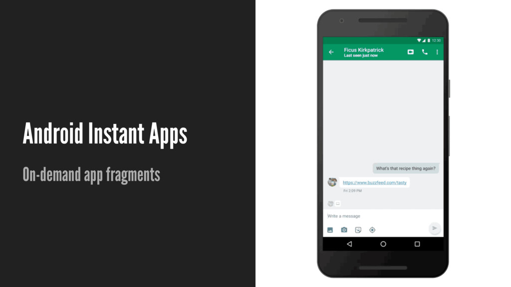 Android Instant Apps On-demand app fragments
