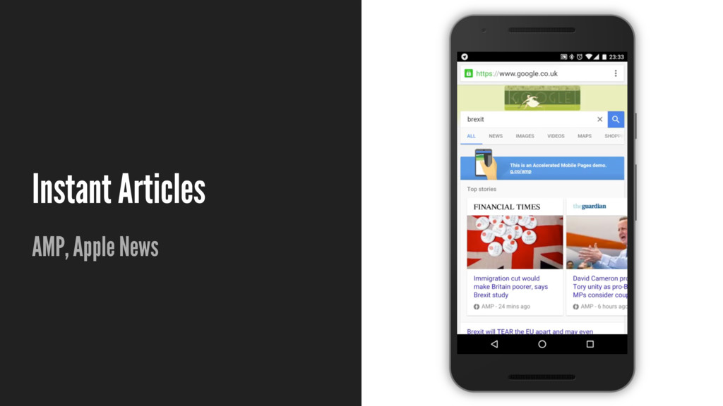 Instant Articles AMP, Apple News