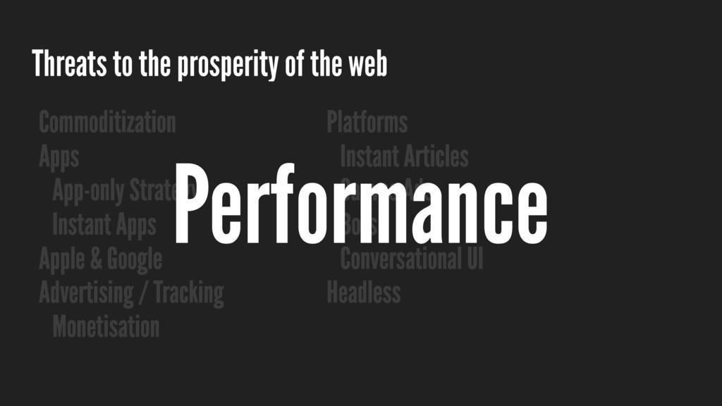 Threats to the prosperity of the web Commoditiz...