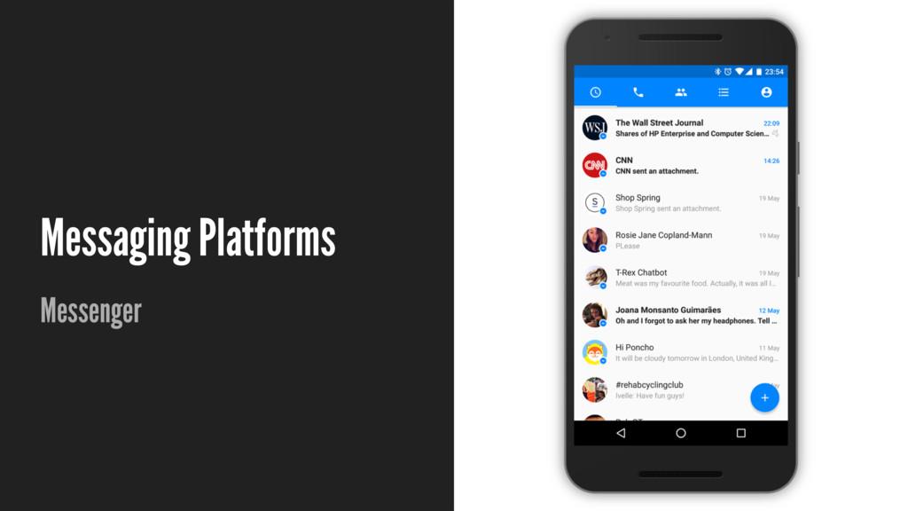 Messaging Platforms Messenger