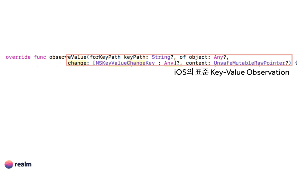 iOS ળ Key-Value Observation