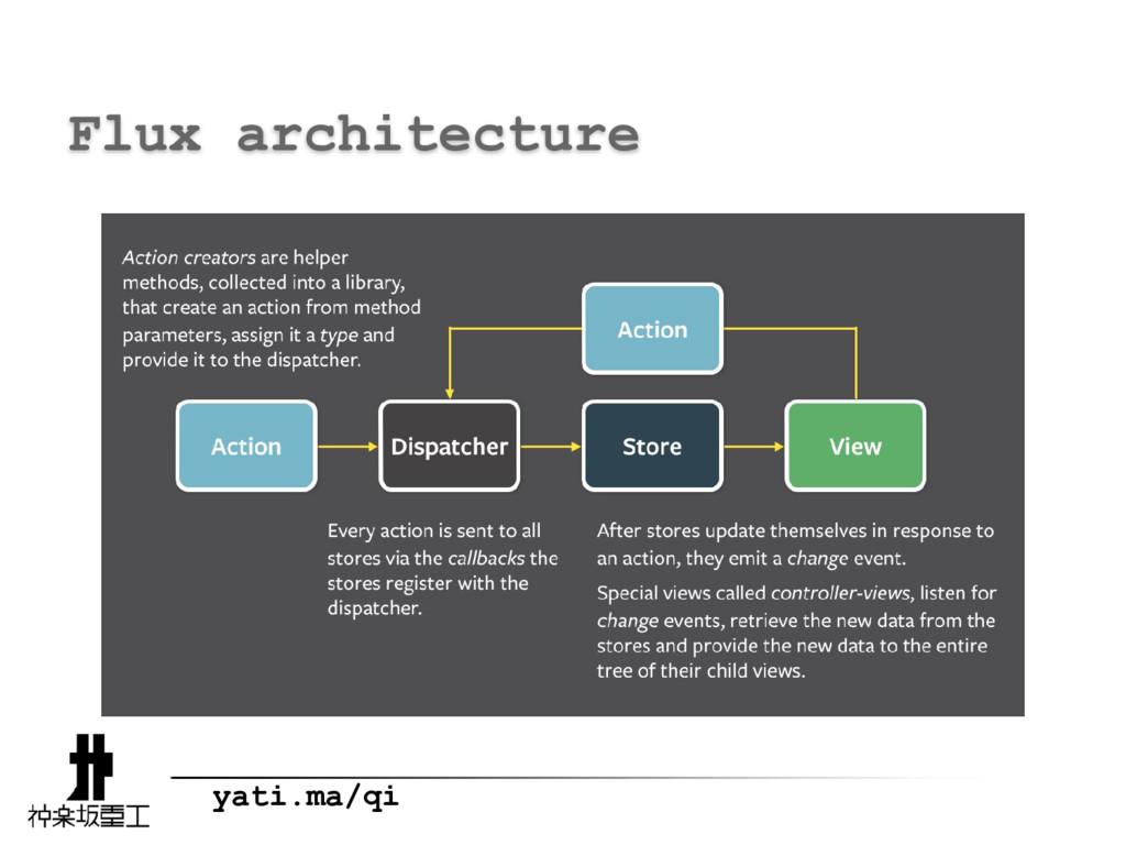 yati.ma/qi Flux architecture