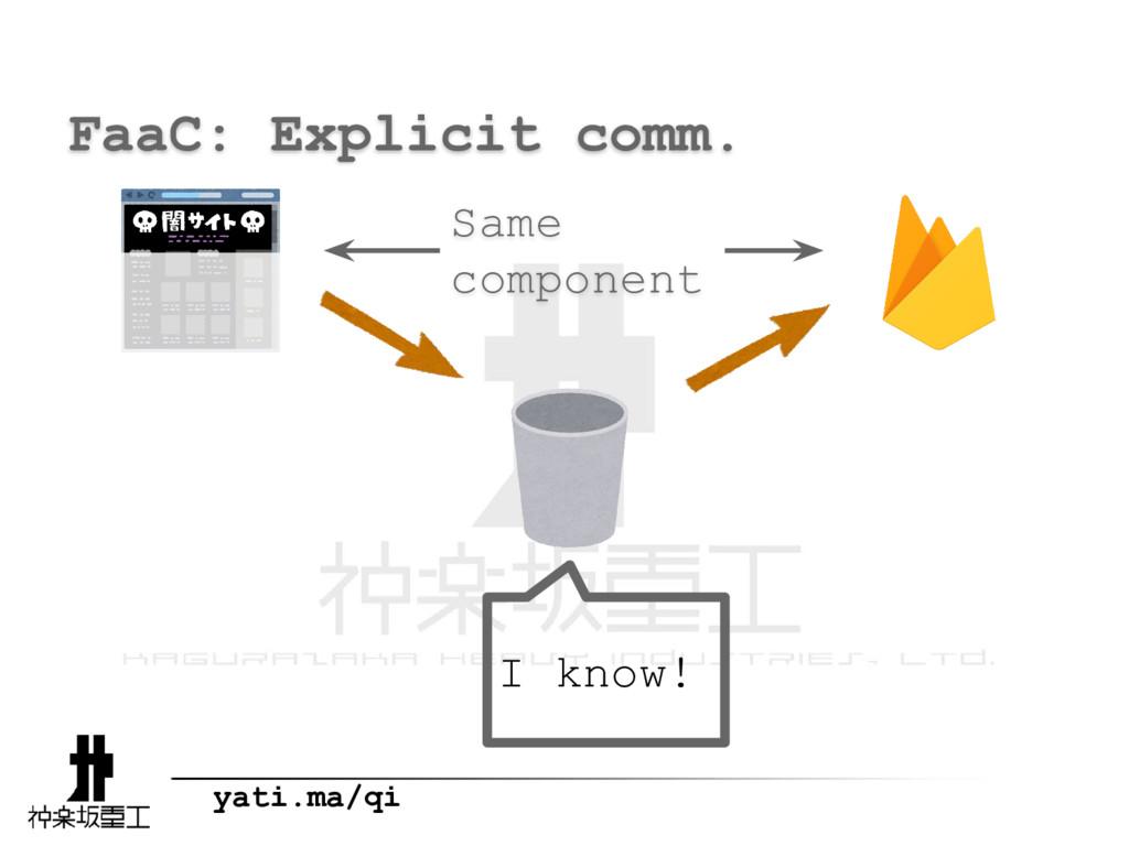 yati.ma/qi FaaC: Explicit comm. I know! Same co...