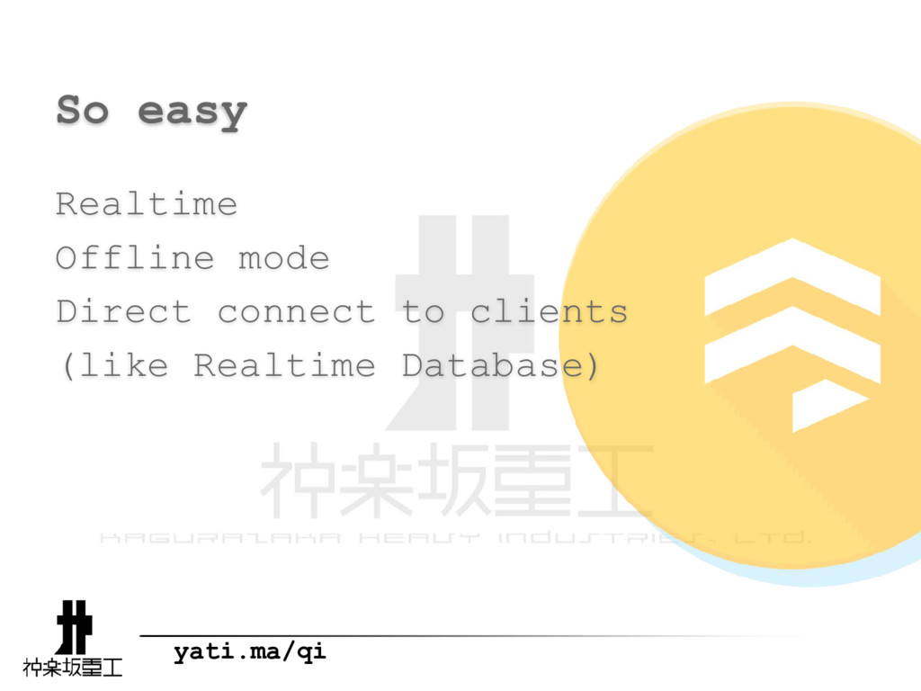 yati.ma/qi So easy Realtime Offline mode Direct...