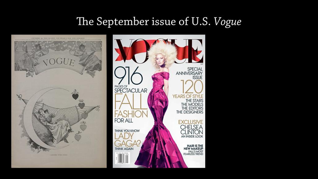 e September issue of U.S. Vogue