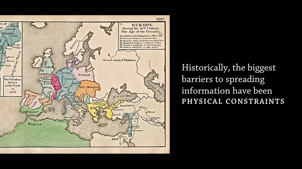 Historically, the biggest barriers to spreading...