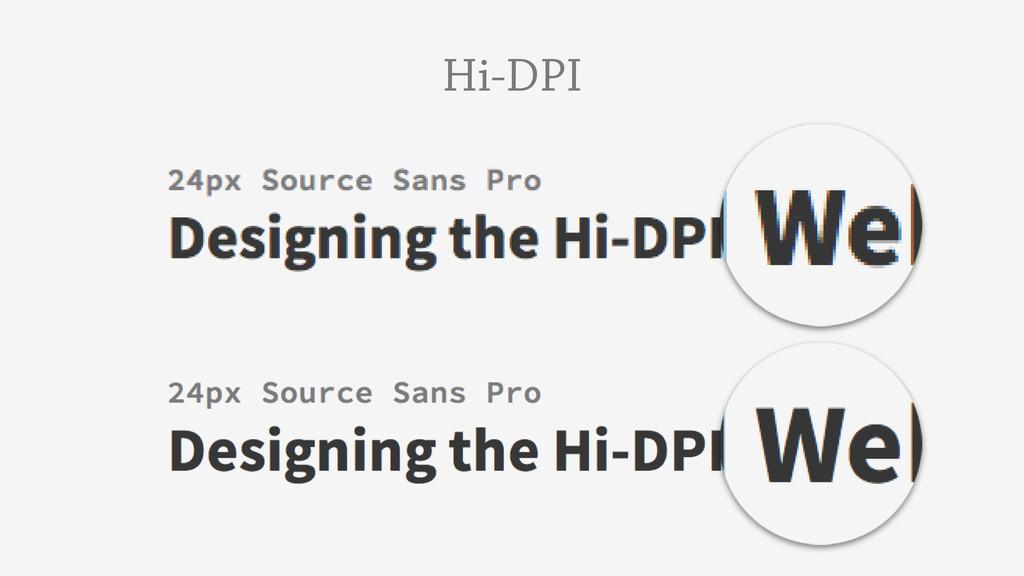 Hi-DPI