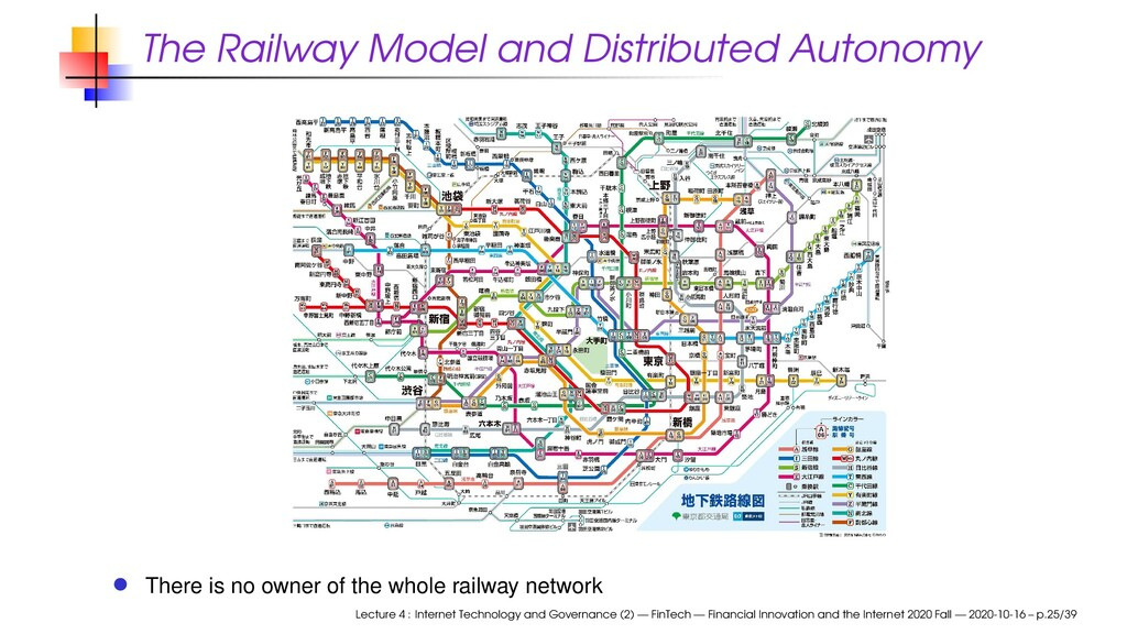 The Railway Model and Distributed Autonomy Ther...
