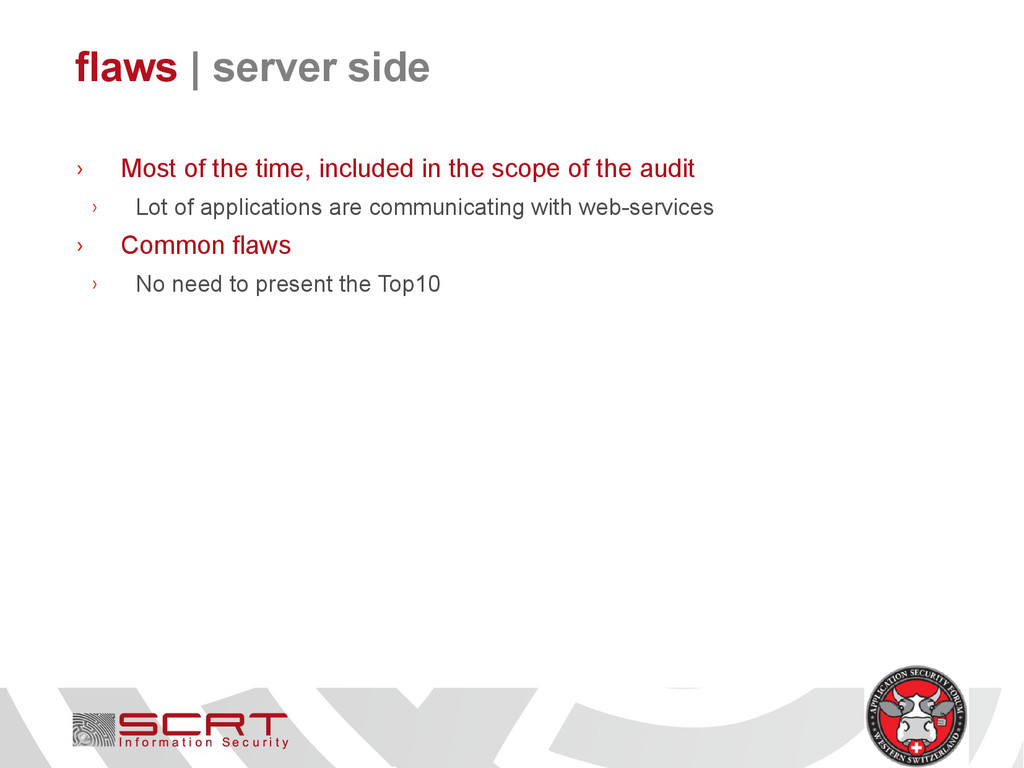 flaws   server side › Most of the time, include...
