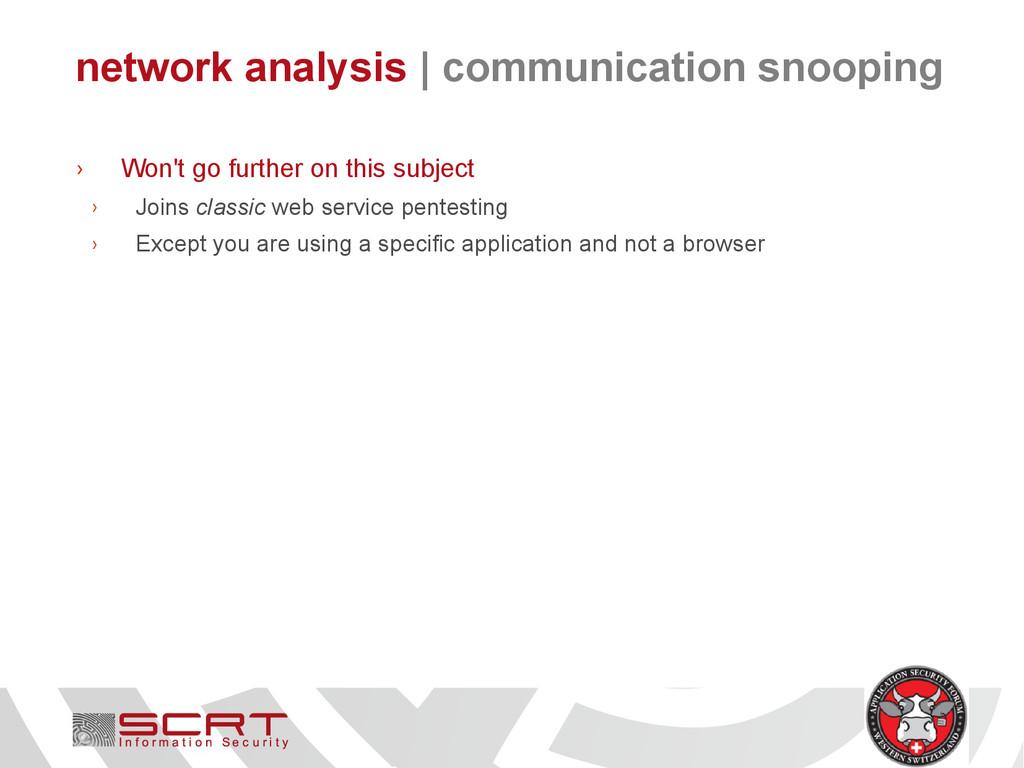 network analysis   communication snooping › Won...