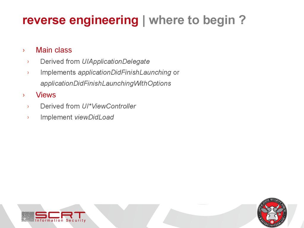 reverse engineering   where to begin ? › Main c...