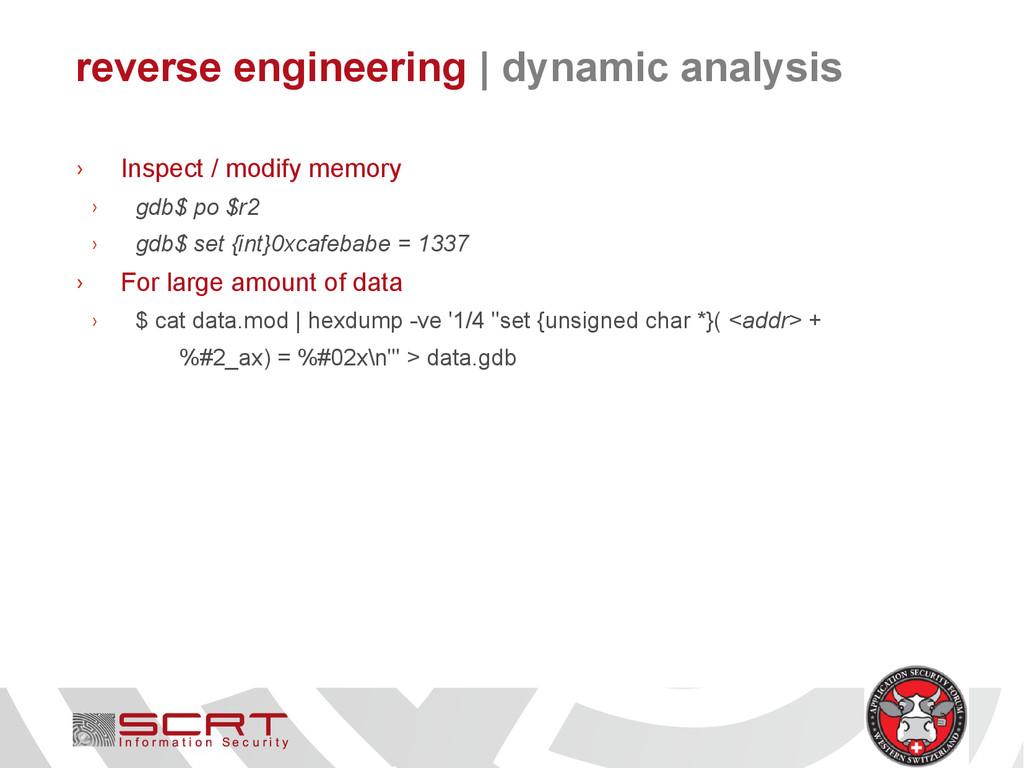 reverse engineering   dynamic analysis › Inspec...