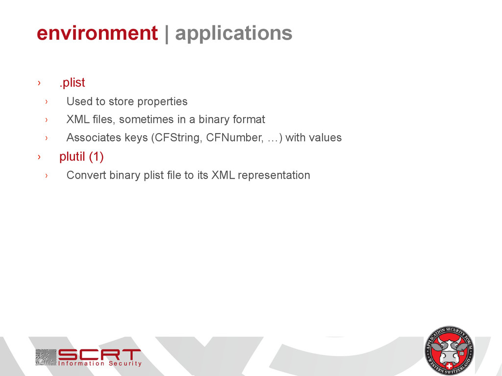 environment   applications › .plist › Used to s...