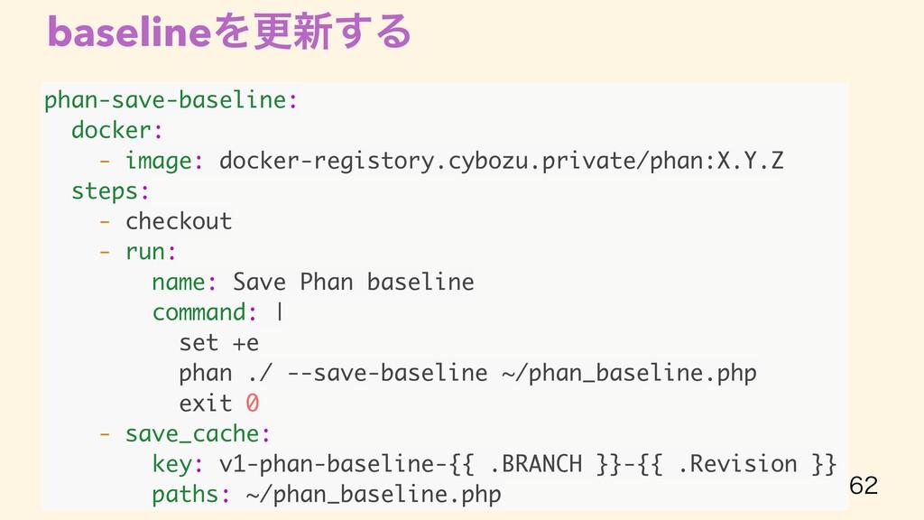 baselineΛߋ৽͢Δ  phan-save-baseline: docker: - ...