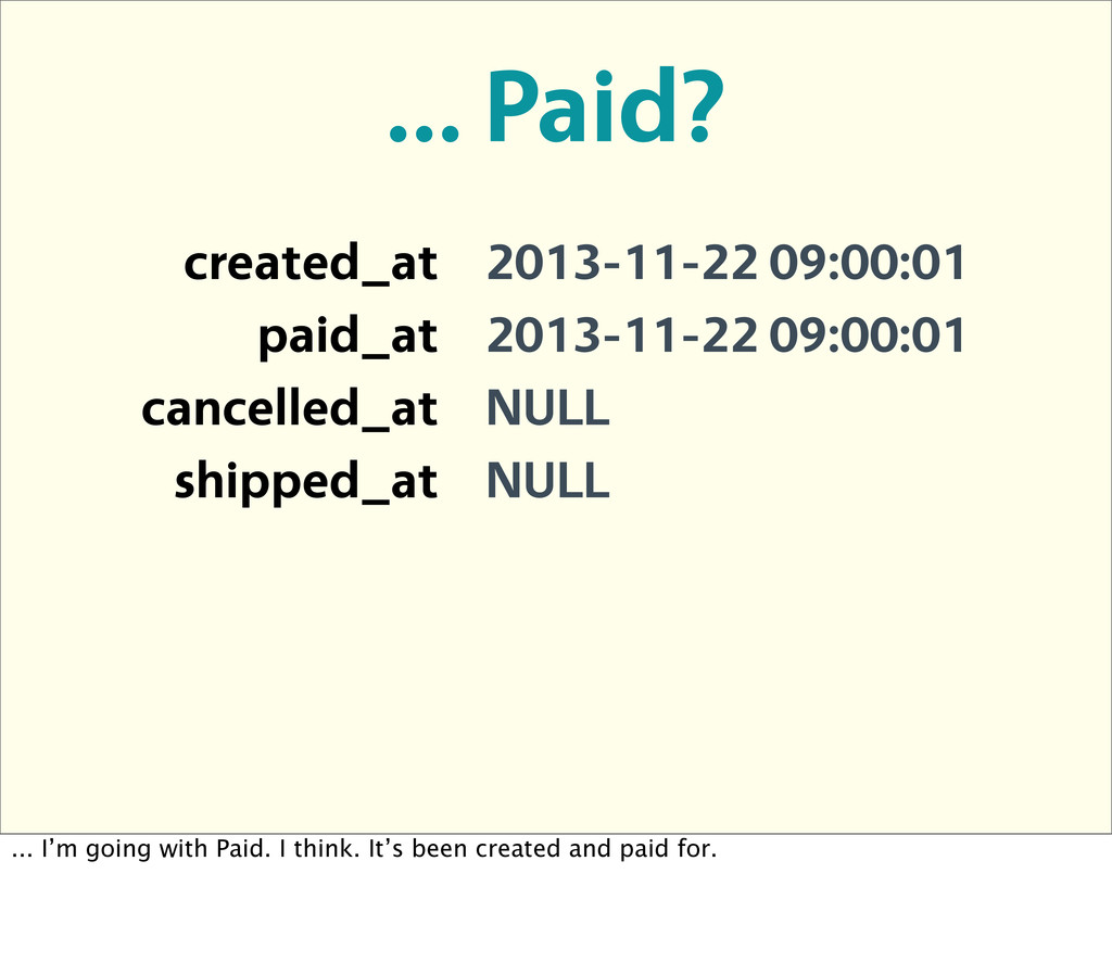 created_at 2013-11-22 09:00:01 paid_at 2013-11-...