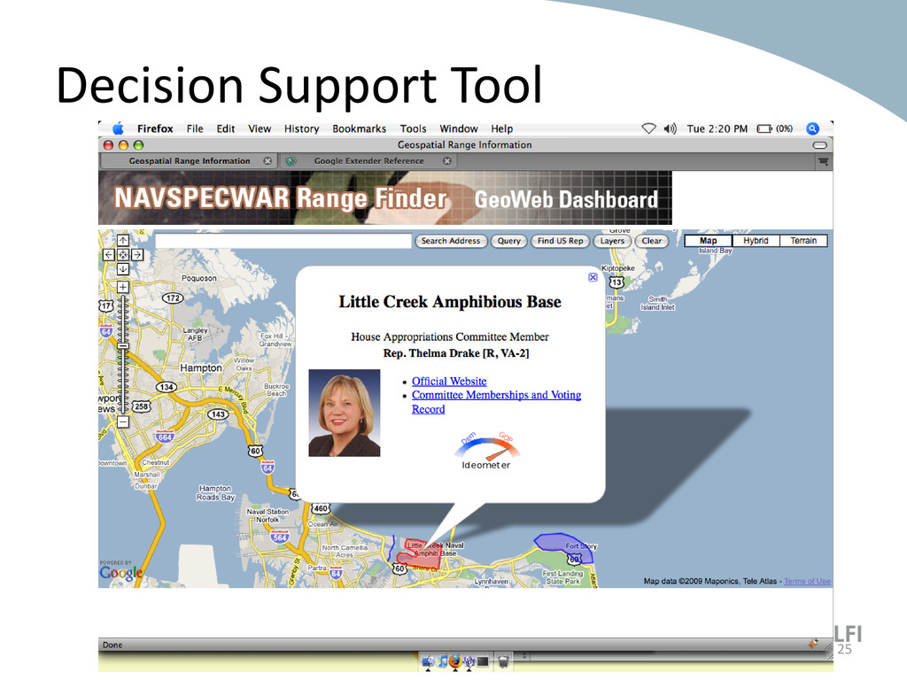 Decision Support Tool 25