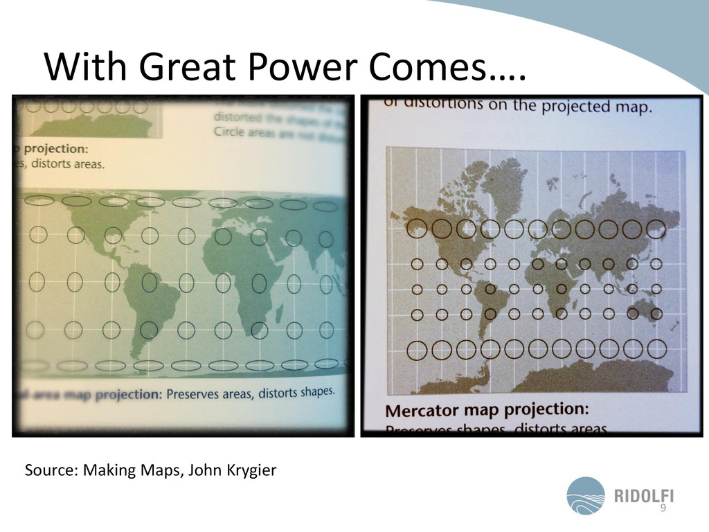 With Great Power Comes…. 9 Source: Making Maps,...