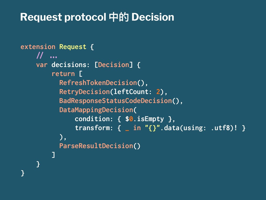 Request protocol Ӿጱ Decision extension Request ...