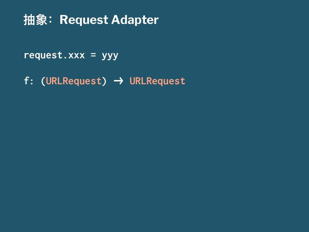 ುғRequest Adapter request.xxx = yyy f: (URLReq...