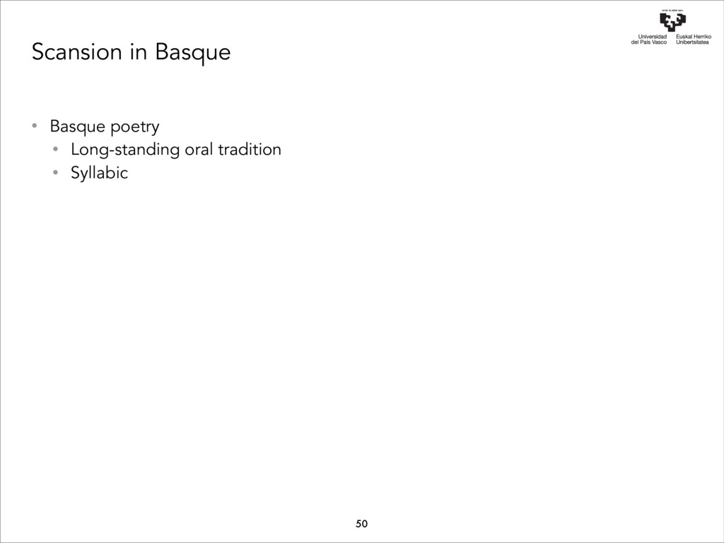 Scansion in Basque • Basque poetry • Long-stand...