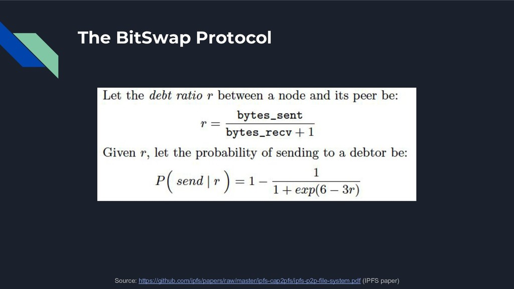 The BitSwap Protocol Source: https://github.com...