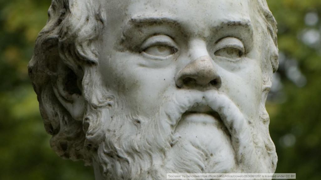 """Socrates"" by bencrowe https://flickr.com/photos..."