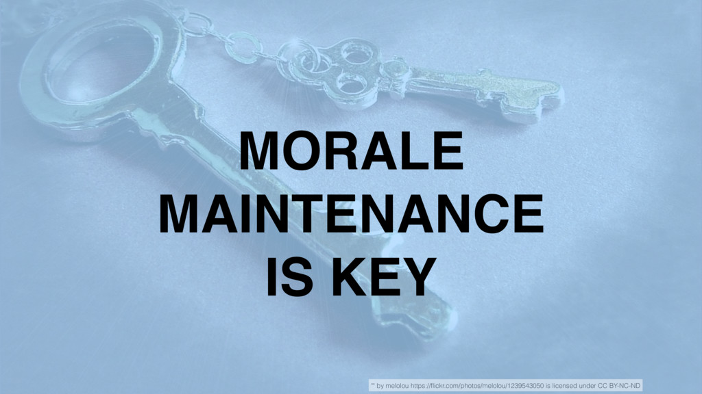 """MORALE MAINTENANCE IS KEY """""""" by melolou https:/..."""