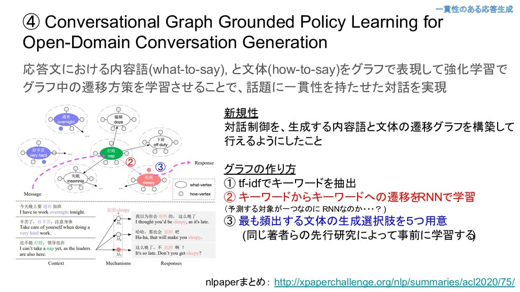 ④ Conversational Graph Grounded Policy Learning...