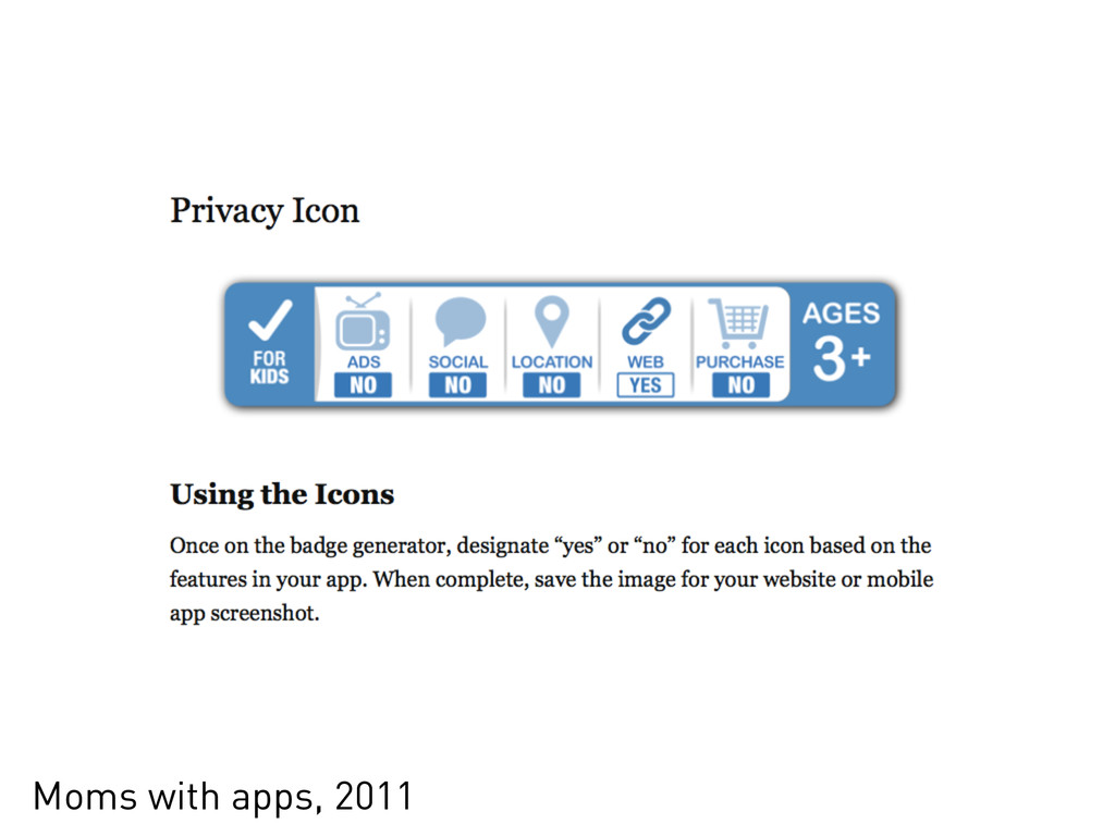 Moms with apps, 2011